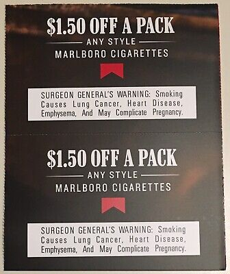 Marlboro coupons $3 off total