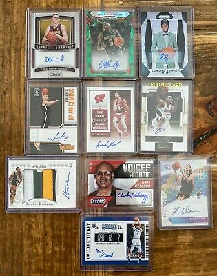 LOT of 27 Basketball Autographs, AUTO Relics, Patch, Jersey RC Autographed Cards