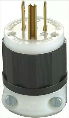 Groundng Plug 3Wire 15A By Leviton Mfg. Co. Mfrpartno 05266-00C....(H)