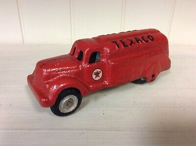 Cast Iron Texaco Side Truck, Vintage Style Toy
