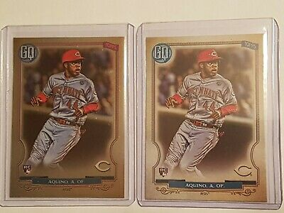 2020 Topps Gypsy Queen Aristides Aquino Chrome Box Topper Rookie + Base RC! Wow