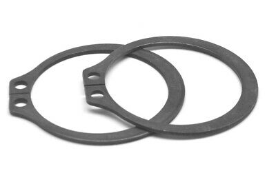 2.000 External Retaining Ring Medium Carbon Steel Black Phosphate