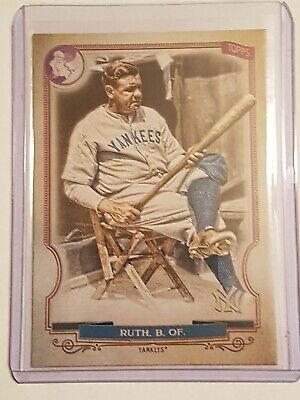 2020 Topps Gypsy Queen Babe Ruth Logo Swap SP! WOW Card# 301!