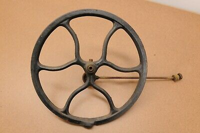 Singer Treadle Sewing Machine Cast Iron Flywheel