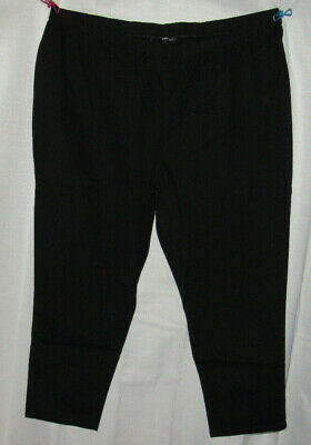 Denim 24/7 black pull on jegging, Plus size 24W petite