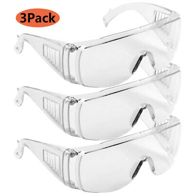 Fully Protect Sealed Safety Goggles Glasses Eye Protection Work Lab Dust-proof