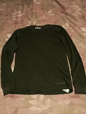 13 Years, Black Long Sleeved Campri Sports Base Layer