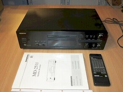 Onkyo MD-2511 Md Player Mini Disc Recorder