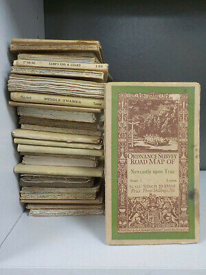 29 Ordnance Survey Maps 1920's & 1930's ID5003