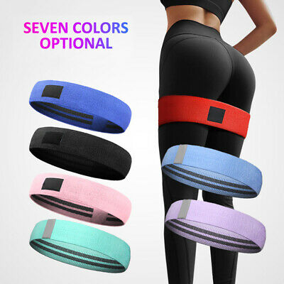 Resistance Booty Bands Hip Circle Thruster Loop Bands Workout Exercise Non-Slip