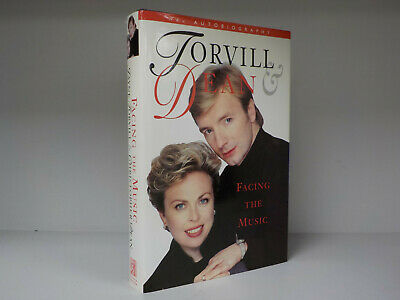 Jayne Torvill & Christopher Dean SIGNED BOOK Facing The Music 1st Edition ID837