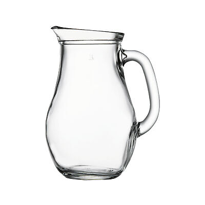 Passabache Azur  1.4Ltr Glass Jug With Red Lid