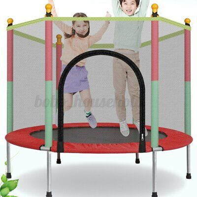 Kids Indoor Mini Trampoline Child Playing Jumping Bed Exercise Enclosure Pad