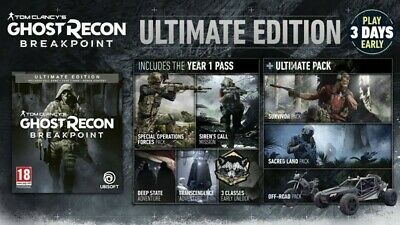 Ghost Recon Breakpoint Ultimate Edition Dlc Ps4