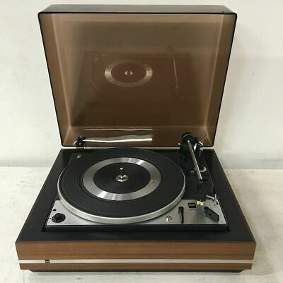 Vintage Dual 1225 Turntable with Shure Cartridge - High Quality - German Made