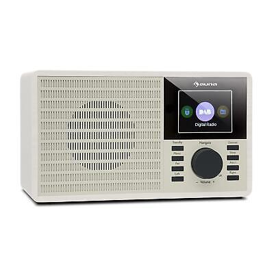 "Radio Digitale Bluetooth DAB+ FM USB Display TFT 2.4""  Bianco"