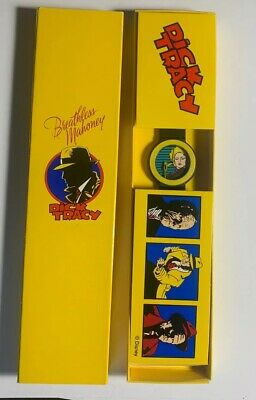 Vintage Dick Tracy Breathless Mahoney Interchangeable Wrist Watch New Untested