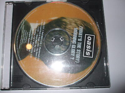 oasis whats the story morning glory  cd single no sleeve