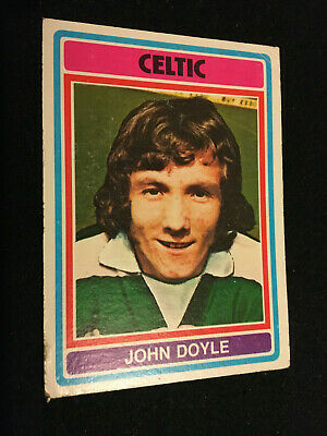 SUN-SOCCERCARDS FOOTBALL-#0784 JOHN DOYLE CELTIC