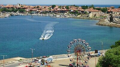 Exceptional one bedroom top floor sea front Apartment Nessebar, Bulgeria.