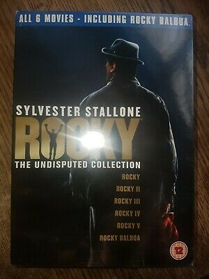 Sylvester Stallone - Rocky: The Undisputed Collection [DVD] - New/Factory Sealed