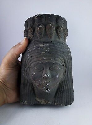 ANCIENT EGYPTIAN ANTIQUITIES STATUE Egypt Queen Ahmose Nefertari Stone Bc