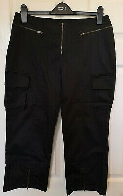 Per Una Cargo Style 3/4 Length Shorts Size 16 Long Length Summer Over The knee