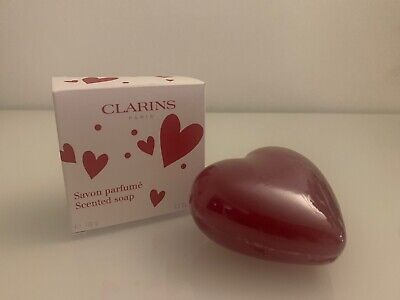 Clarins Eau Dynamisante Scented Heart Soap - 150g, BOXED
