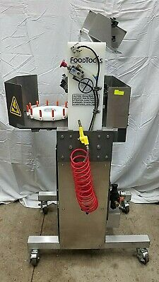 FoodTools CS-4AAC Automatic Cake Pie Cutting portioning  Machine
