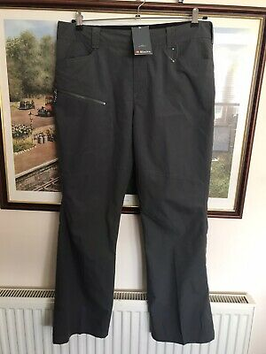 HELLY HANSEN Womens Grey Duro Pants Hiking Walking Trousers Ladies Large BNWT
