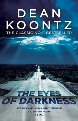 The Eyes of Darkness Dean Koontz New Paperback / Free Delivery