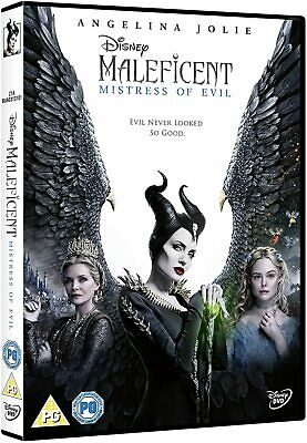Maleficent: Mistress of Evil New DVD / Free Delivery