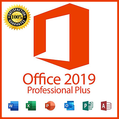 INSTANT DELIVERY Microsoft Office 2019 Professional Plus 32/64 Key and download