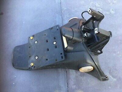 027 Piaggio FLY125 Rear Mudguard Number Plate Holder Hanger 2005-2012 50 100 125