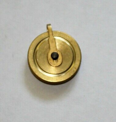Seth Thomas No. 2 Regulator Clock Pulley, Brass