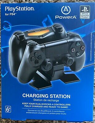 PowerA PlayStation 4 DualShock Controller Dual Charging Station NEW IN BOX