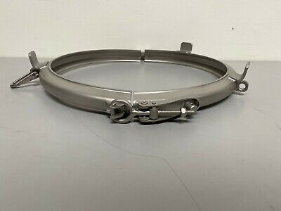 """Stainless Steel Heavy Duty Double Pin 12"""" Clamp"""