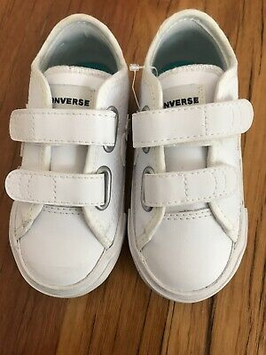 Converse Kids Shoes Star Replay White Size EU 23 (new Without Box)