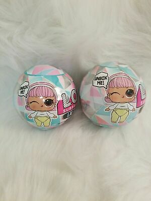 LOL Surprise Lils Winter Disco Balls ~ Lot Of 2 ~Lil Sis Bro or Pet~New Sealed ~