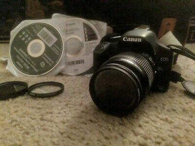 Canon EOS Rebel T1i / EOS 500D 15.1MP Digital SLR Camera - W/ Extras