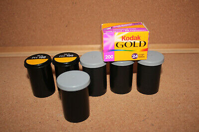 (4) Kodak Gold 200 Film + (1) MAX 800 + (2) Profoto PFF100 Expired Unused Lot