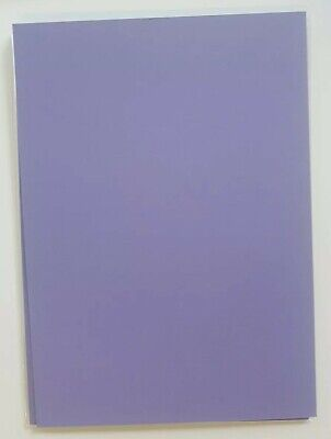 Lovely Lilac A5 card bases x 10 (Stampin' up! retired colour)