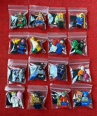 Lego DC Super Heroes Minifigures 71026 Complete Set Of 16 Figures