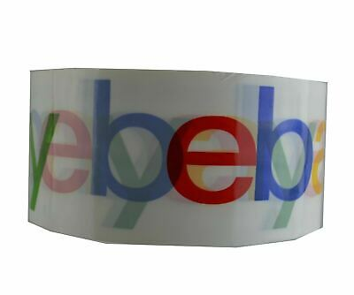"""eBay Branded Packaging Shipping Tape BOPP 1 Roll 75 Yards 2 Mil 2"""" Wide Strong"""