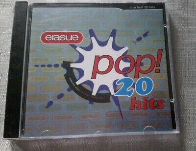 Erasure - Pop! (The First 20 Hits, 1992) pre-owned