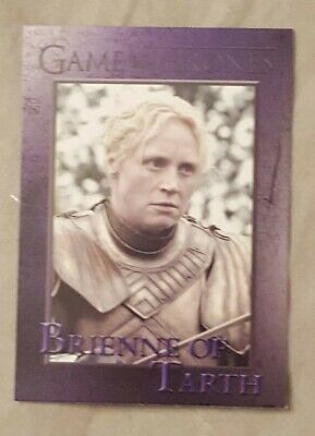 #44 Brienne Of Tarth Season 3 Game Of Thrones Card