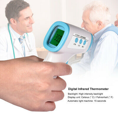 LCD Infrared Forehead Body Thermometer Gun Non-contact Temperature Measuring