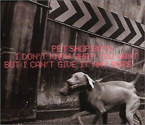 Pet Shop Boys - I Dont Know What You Want Pt.2 ** Free Shipping**