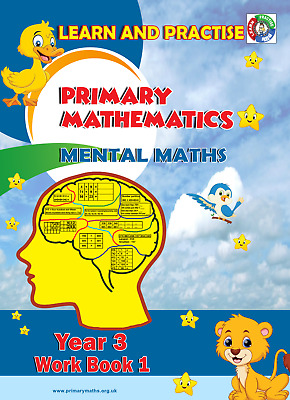 Year 3 Work Book 1, Learn And Practise,  Key Stage 2, Mental Maths