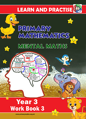 Year 3 Work Book 3, Learn And Practise,  Key Stage 2, Mental Maths